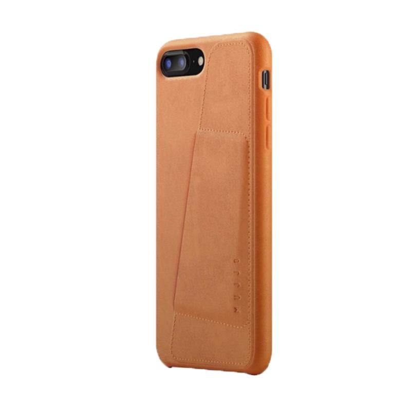 Ốp lưng Mujjo Leather iPhone 8 Plus (CS-091) hình 1