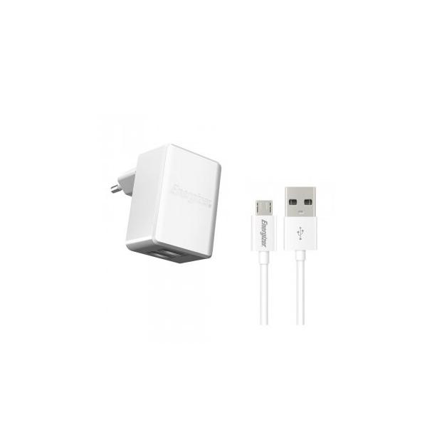 Sạc Energizer Wall 2.4A (kèm cable Micro USB) hình 0