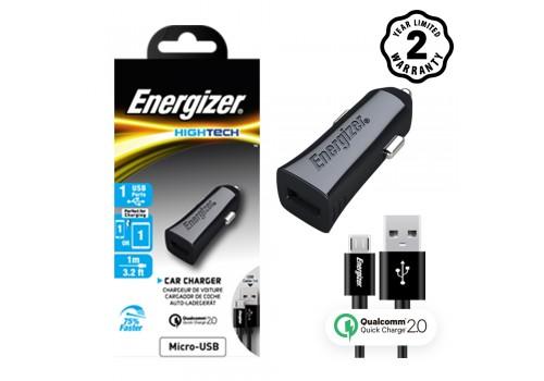 Sạc xe hơi Energizer QC2.0 (kèm cáp Micro USB) DCA1QHMC3 hình 1