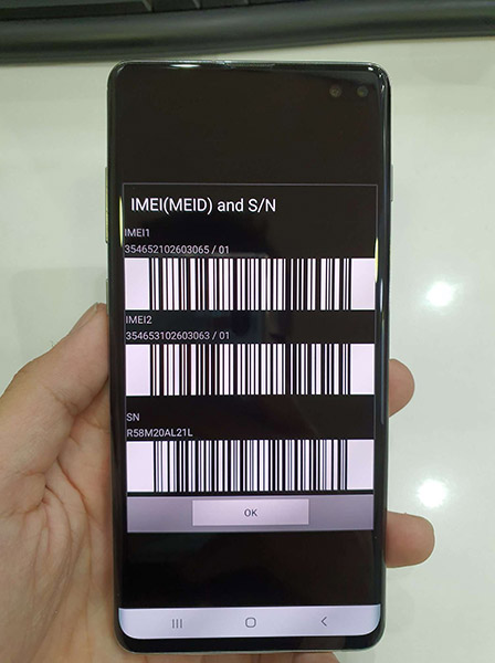 Samsung Galaxy S10 Plus 128 Gb Ram 8 Gb 99% ( 112 VVN ) hình 1
