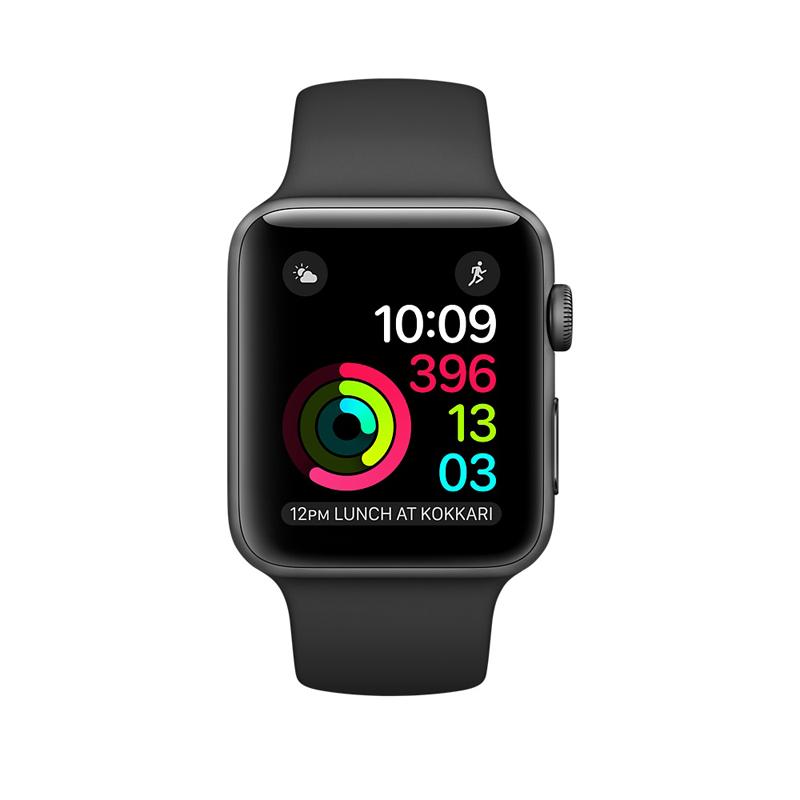 Apple Watch Series 2 42mm Gray Aluminum Case-MP062 hình 1
