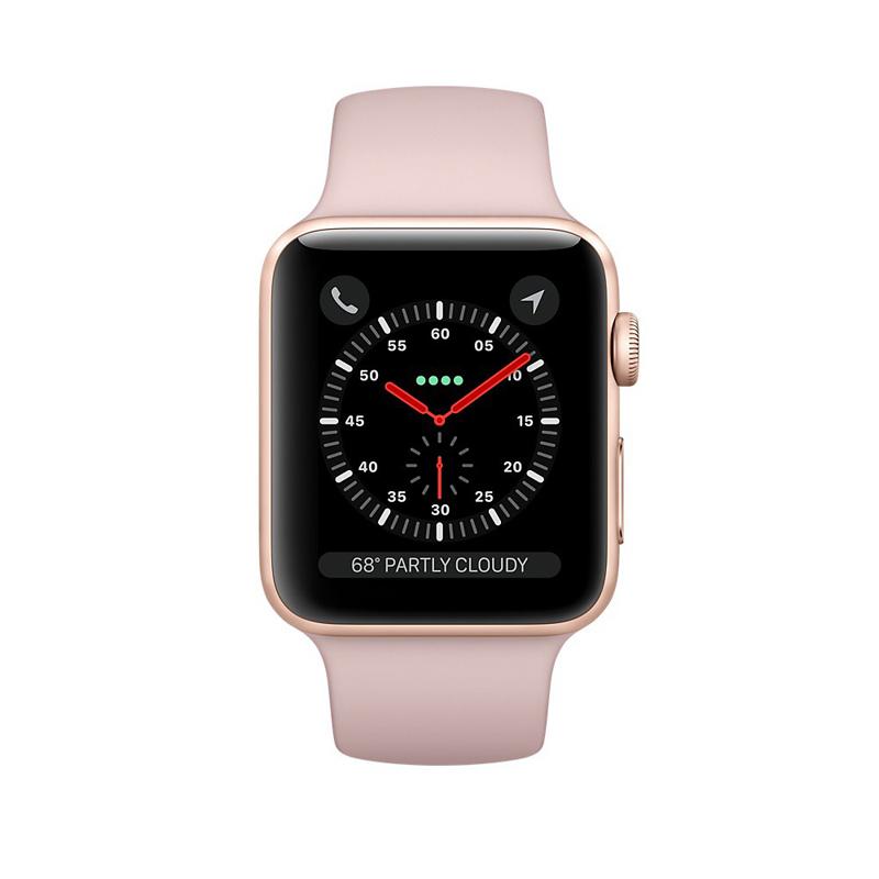Apple Watch Series 3 38mm Gold Aluminum Case-MQKW2 hình 1