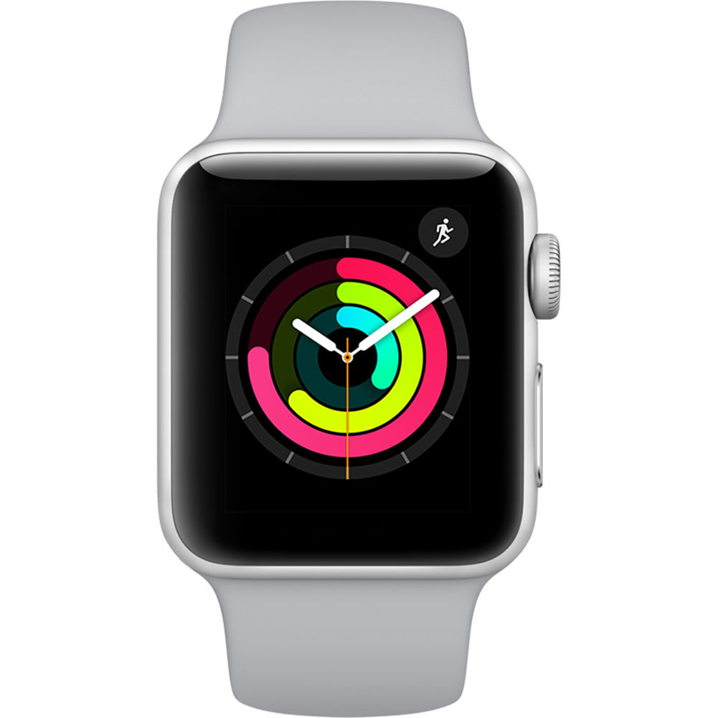 Apple Watch Series 3 38mm Silver Aluminum Case-MQKU2 hình 0