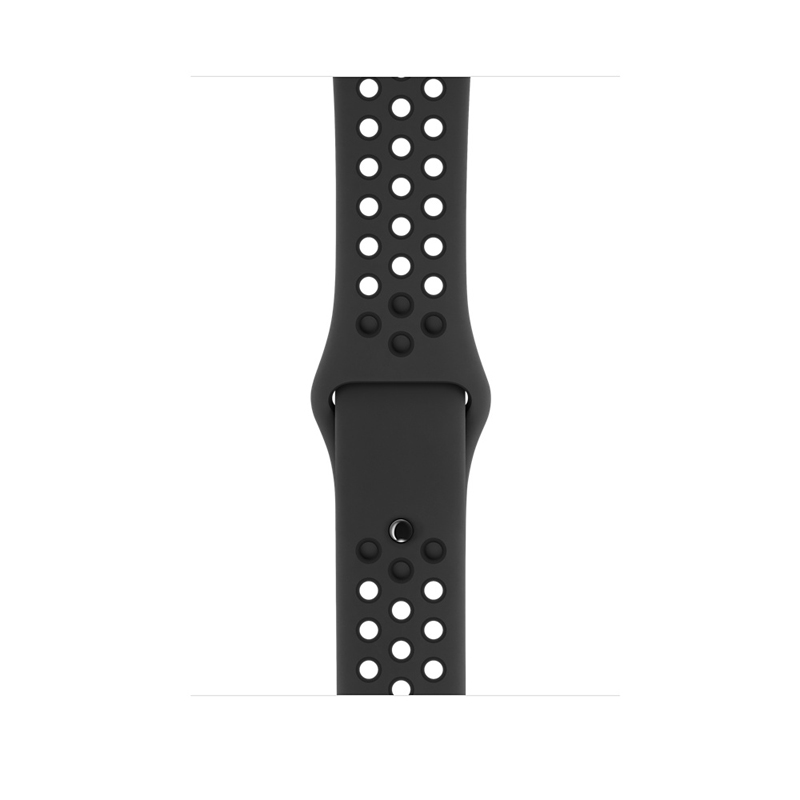 Apple Watch Series 3 42mm Gray Aluminum Case with Anthracite/Black Nike Sport Band MQL42 hình 2