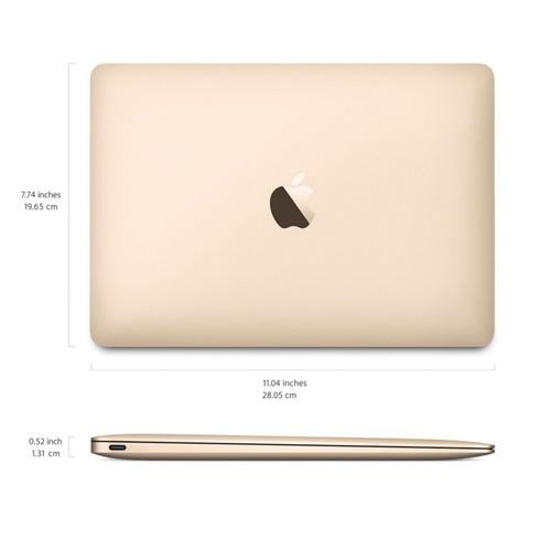 Macbook 12.0 inch 256GB MNYK2 (2017) Gold hình 5