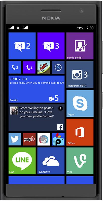 Nokia Lumia 730 Dual sim hình 0