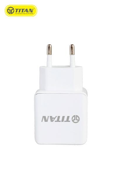 Sạc TITAN SN07 2A (2 cổng USB) hình 3