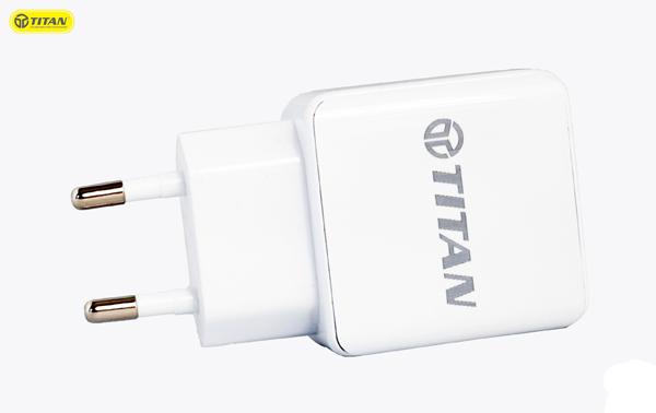 Sạc TITAN SN07 2A (2 cổng USB) hình 1