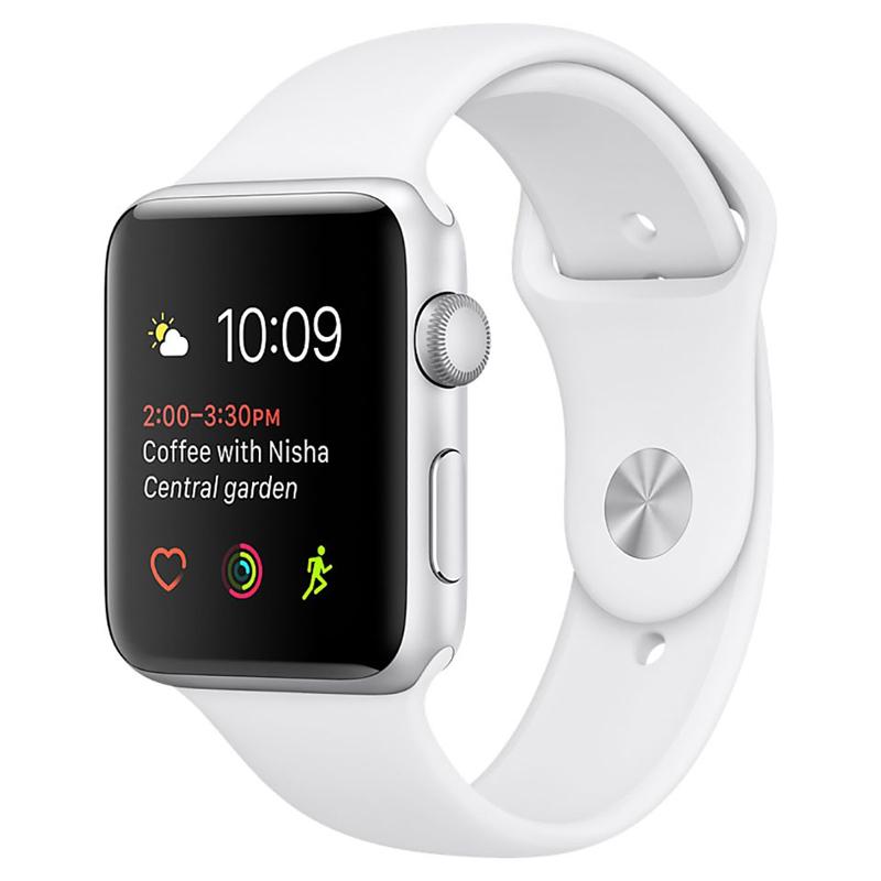 Apple Watch Series 2 42mm Silver Aluminium Case-MNPJ2 hình 0
