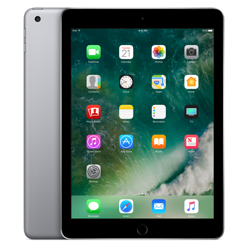 Apple iPad Gen 5 (2017) Cellular 128Gb hình 3