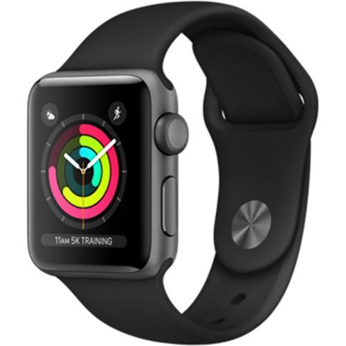 Apple Watch Series 3 GPS Black MTF02 38mm hình 0