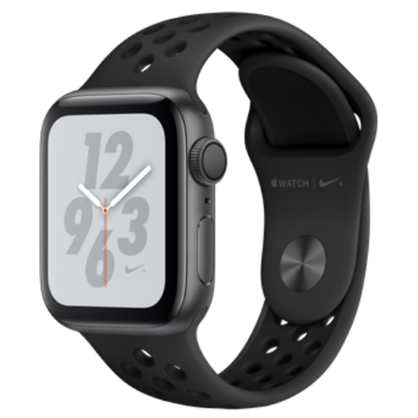 Apple Watch Series 4 40mm GPS Space Gray Aluminum Case With Anthracite Black Nike Sport Band MU6J2 hình 0