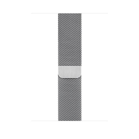 Apple Watch Series 5 44mm LTE Silver Stainless Steel Case with Milanese Loop Silver MWW32 hình 2