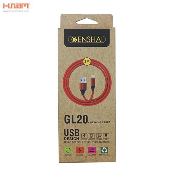 Cáp Genshai Lightning GL20 (2m) hình 1