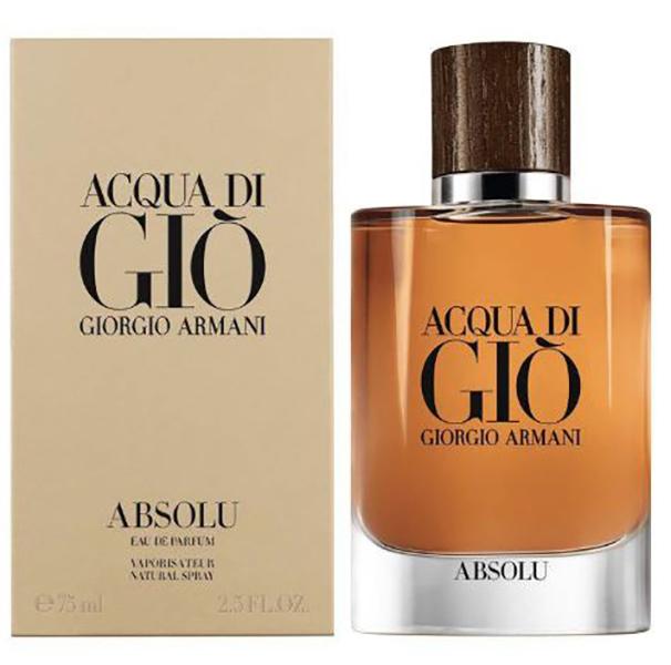 Nước hoa nam Giorgio Armani Acqua di Giò Absolu edp 75ml hình 1