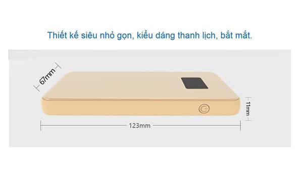 Pin dự phòng Hepu MP906 10000mAh hình 1