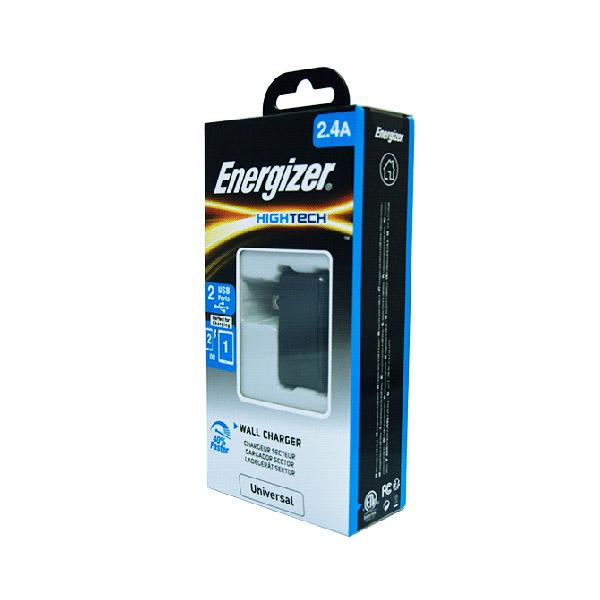 Sạc Energizer HT 2.4A 2USB ACA2BUSHBK3 hình 1