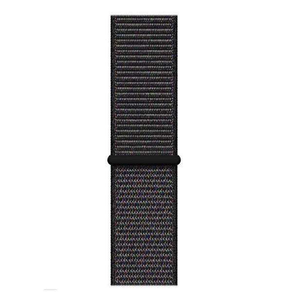 Apple Watch Series 4 44mm GPS Space Black Aluminum Case with Black Sport Loop MU6E2 hình 2