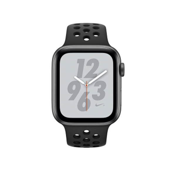 Apple Watch Series 4 44mm GPS Space Gray Aluminum Case With Anthracite Black Nike Sport Band MU6L2 hình 1