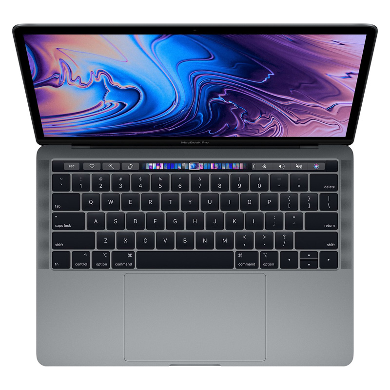 MacBook Pro 13 inch Touch Bar 2018 FR9Q2 256GB Gray CPO (Certified Pre-Owned) hình 3