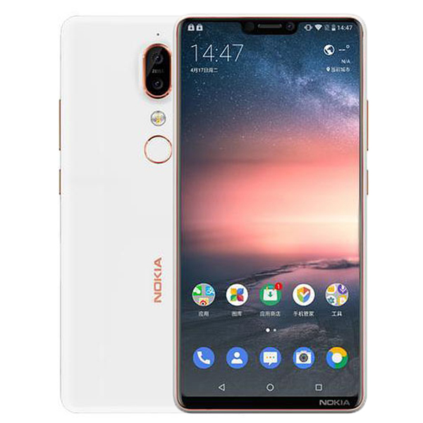 Nokia X6 hình 2