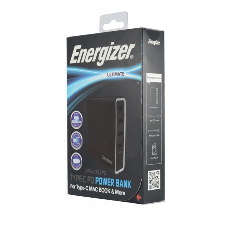 Pin dự phòng Energizer XP20001PD 20000mAh hình 2