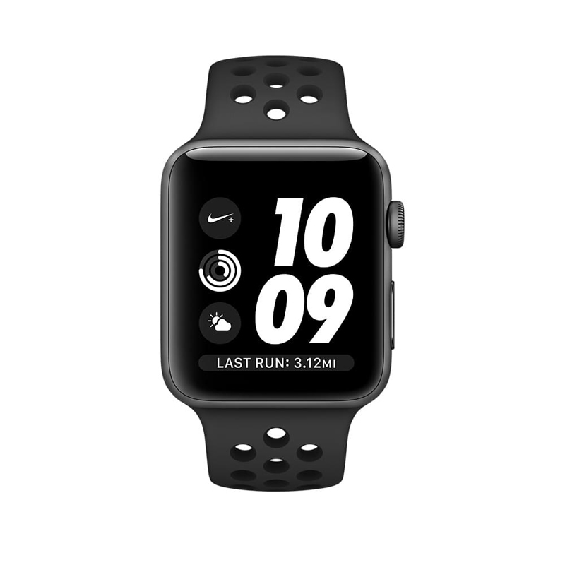 Apple Watch Series 2 42mm Gray Aluminum Case-MQ182 hình 0