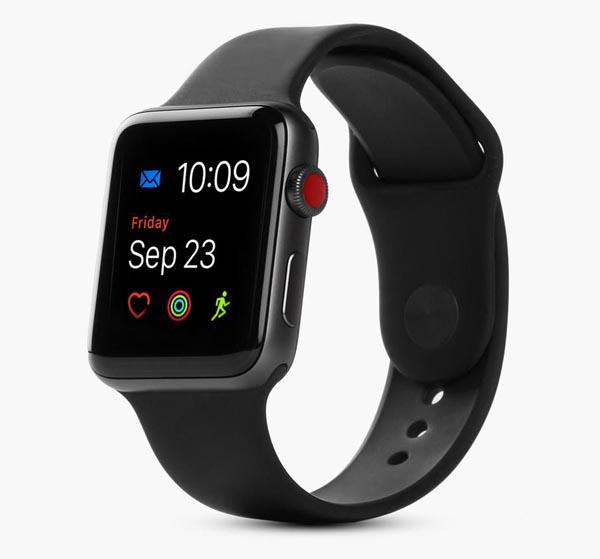 Apple Watch Series 3 38mm Black LTE cũ 99% hình 0