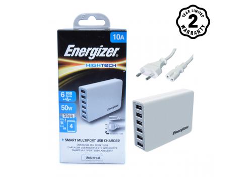 Sạc Energizer 6 cổng USB Station 50W EU hình 1