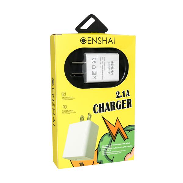 Sạc Genshai Smart GS03 (1 cổng USB) hình 2