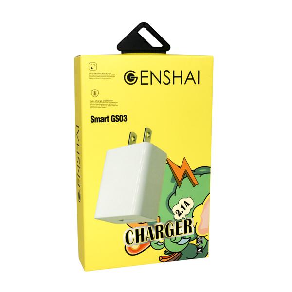 Sạc Genshai Smart GS03 (1 cổng USB) hình 1