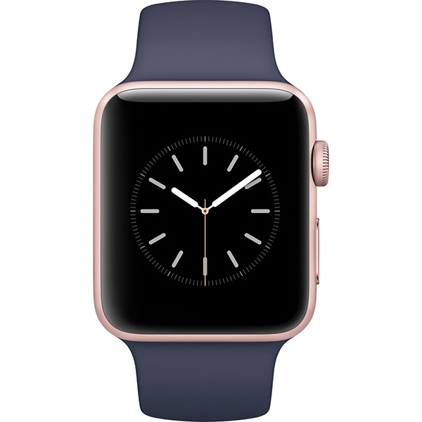 Apple Watch Series 2 42mm Rose Gold Aluminum Case-MNPL2 hình 1