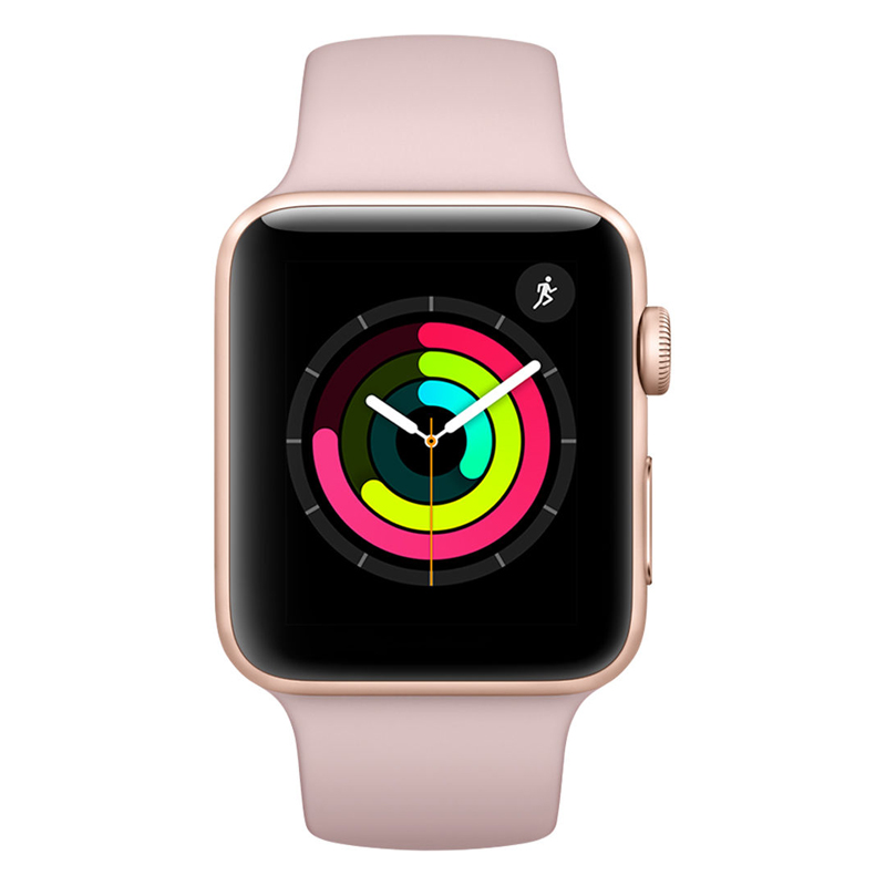 Apple Watch Series 3 Cellular 38mm Gold Aluminum Case - MQJQ2 (Trôi bảo hành , chưa Active ) hình 2
