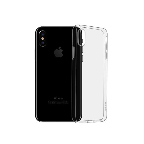 Ốp lưng iSmile TPU iPhone XS Max (trong suốt) hình 0