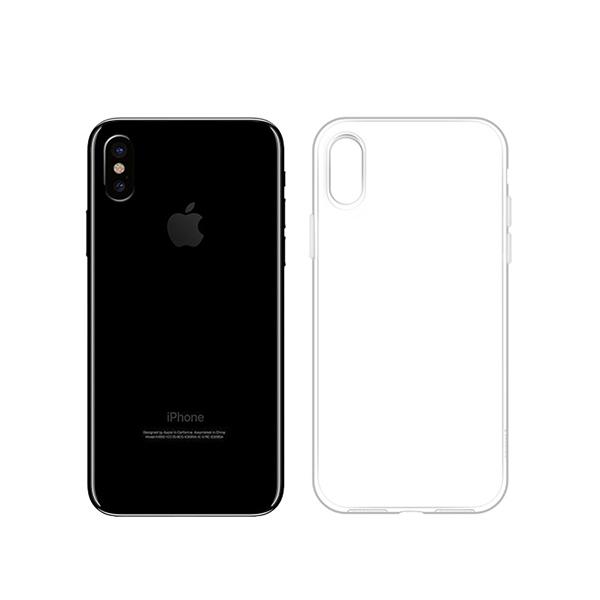 Ốp lưng iSmile TPU iPhone XS Max (trong suốt) hình 1