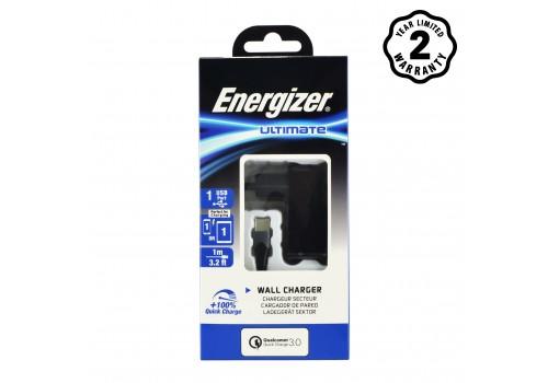 Sạc Energizer 18W QC3.0 (kèm cáp Type C) AC1Q3EUUC23 hình 2