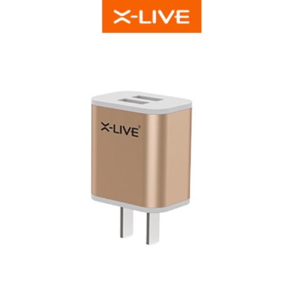 Sạc X-Live Smart A9 (2 cổng USB, 2.1A) hình 0