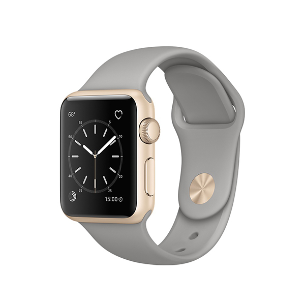 Apple Watch Series 2 38mm Gold Aluminum Case-MNP22 hình 0