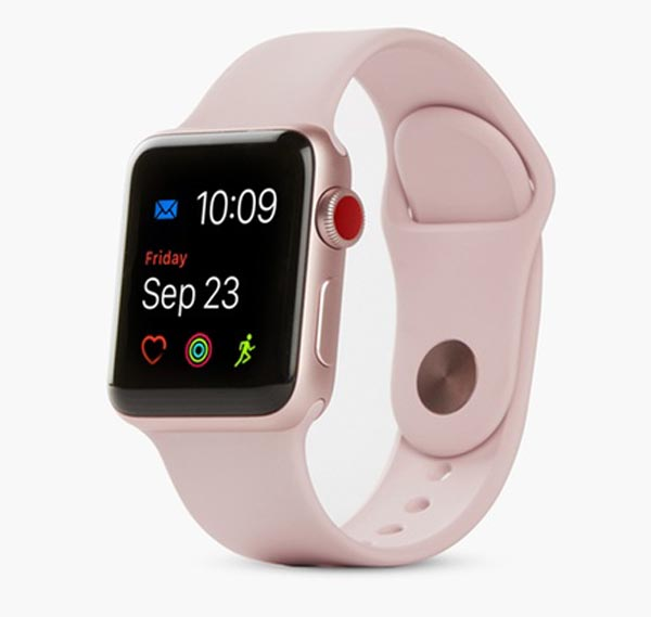 Apple Watch Series 3 42mm Pink LTE cũ 99% hình 0