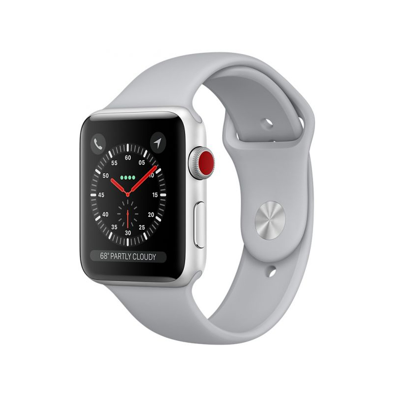 Apple Watch Series 3 Cellular 38mm Silver Aluminum Case - MQJN2 ( Trôi bảo hành , chưa Active ) hình 0
