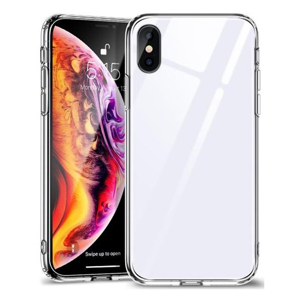 Ốp lưng Jcpal Crystal Glass iPhone XS (trong suốt) hình 0