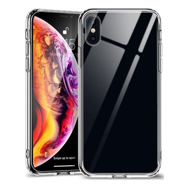 Ốp lưng Jcpal Crystal Glass iPhone XS (trong suốt) hình 1