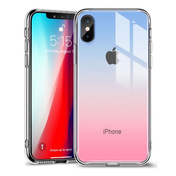 Ốp lưng Jcpal Crystal Glass iPhone XS (trong suốt) hình 2