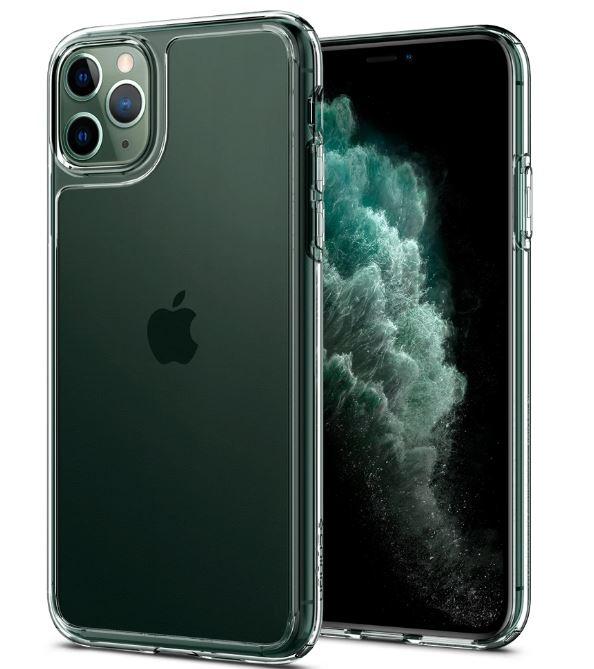 Ốp lưng Spigen Quartz Hybrid Crystal iPhone 11 Pro Max (trong suốt) hình 0