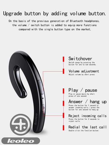 Tai nghe Bluetooth LeoLeo 07 hình 3