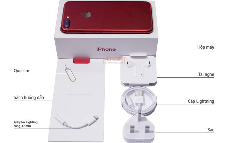 Apple iPhone 7 Plus 128Gb Red New 100% - Trôi bảo hành hình sản phẩm 0
