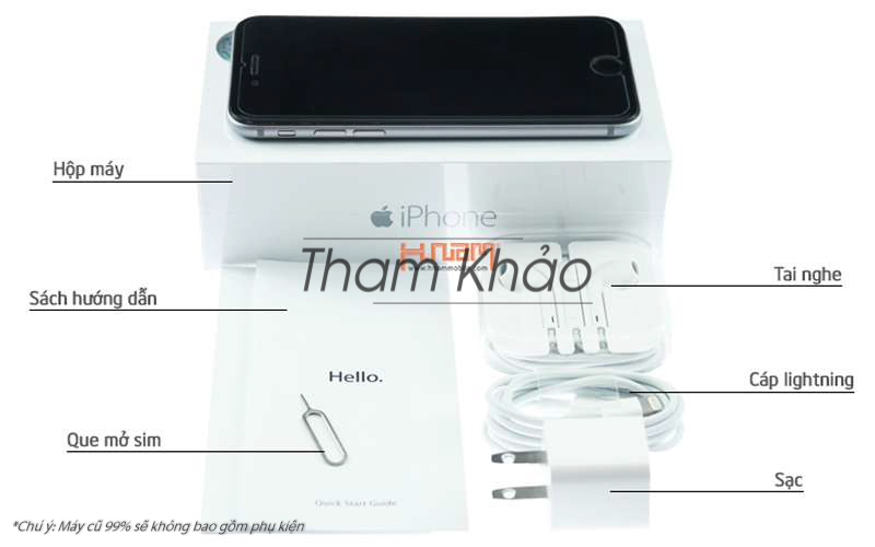 Apple iPhone 6 Plus 16Gb - New 100% hình sản phẩm 0