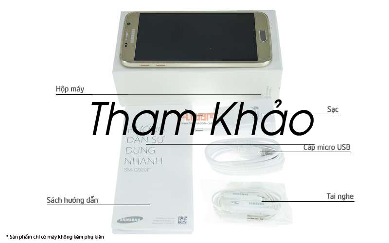 Samsung Galaxy S6 G920(USA) 32Gb hình sản phẩm 0