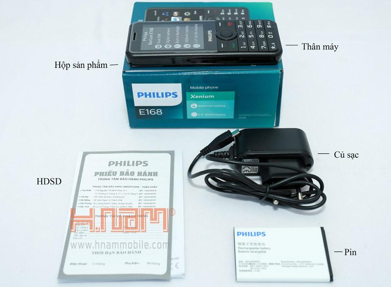 Philips E168 hình sản phẩm 0