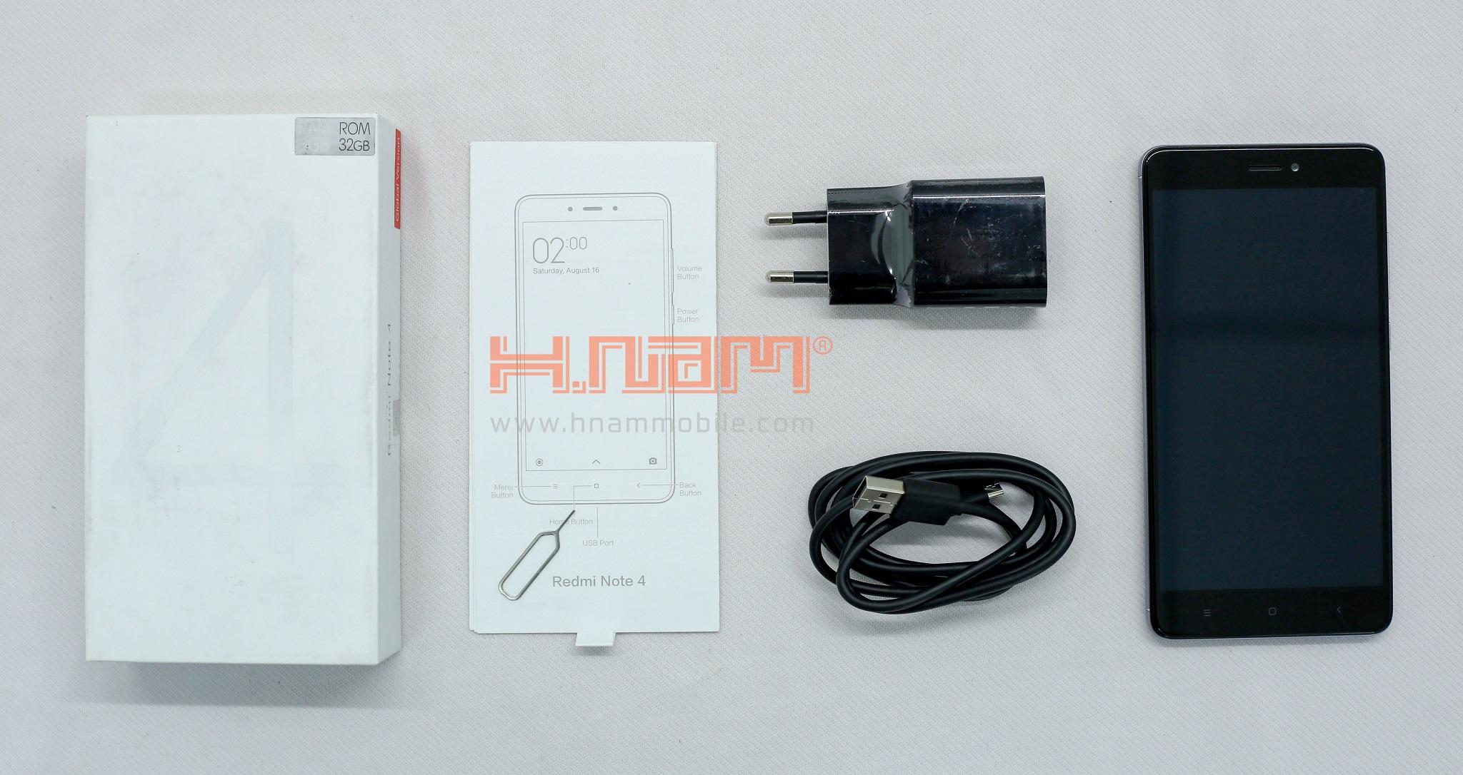 Xiaomi Redmi Note 4 64Gb Ram 4Gb (Chip SnapDragon 625) hình sản phẩm 1